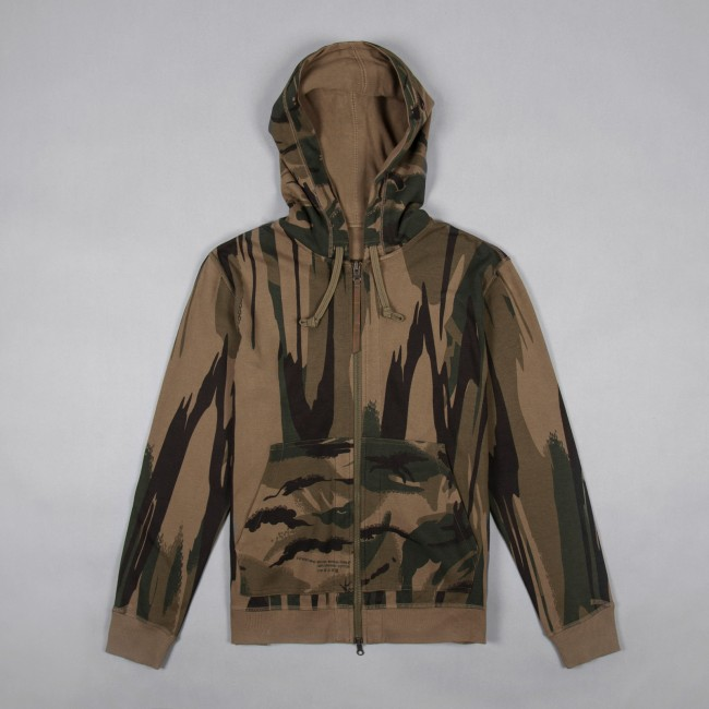 Толстовка Reversible Camo Zip Hooded Sweat