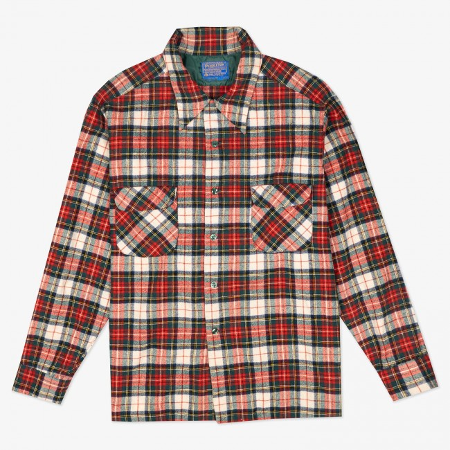 Рубашка Plaid Wool Shirt
