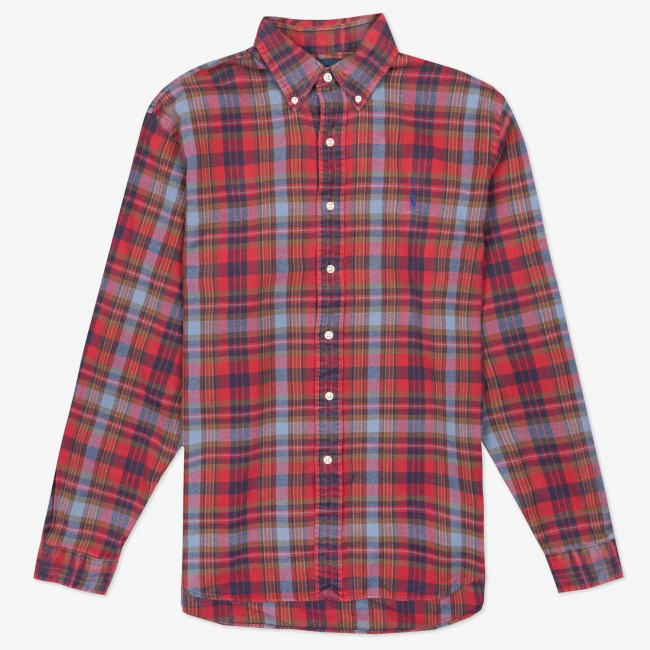 Рубашка Plaid Flannel Shirt