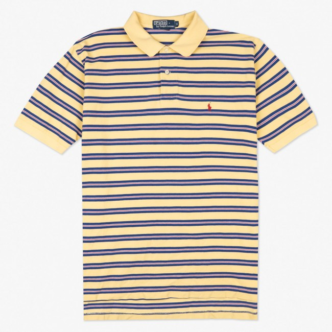Поло Striped Polo Shirt