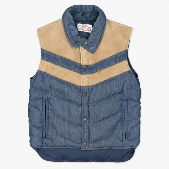 Жилетка Denim Down Vest