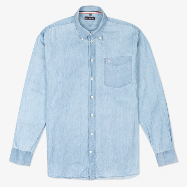 Рубашка Hellblau Denim Shirt